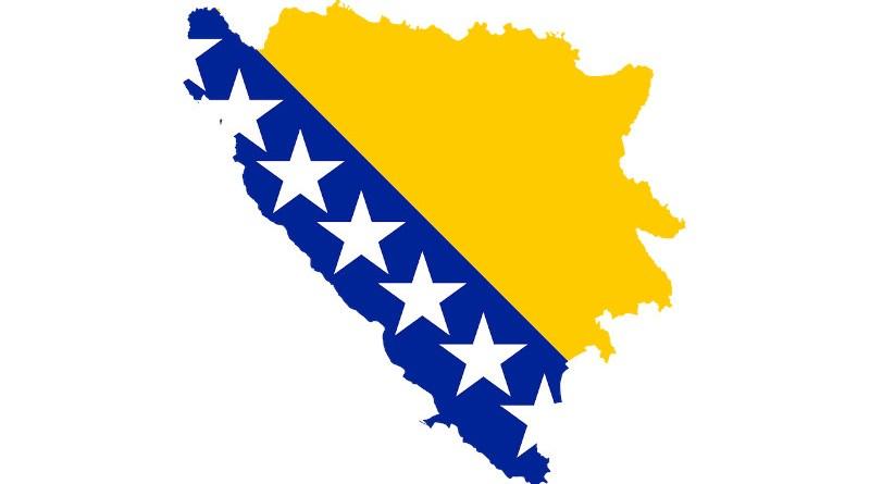 Bosnia And Herzegovina Country Europe Flag Borders
