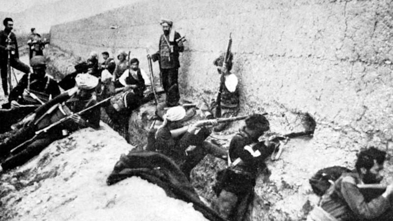 Armenian forces in Van in 1915. (Photo public domain)