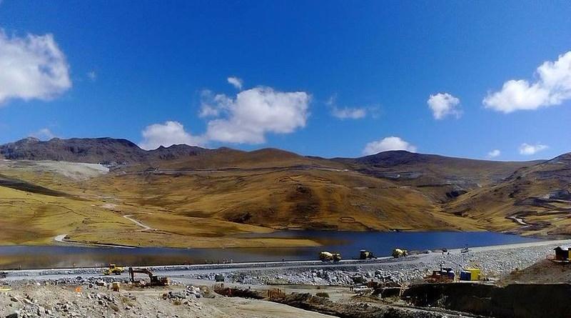 Las Bambas copper mine in Apurímac, Peru. Photo Credit: Ondando, Wikipedia Commons