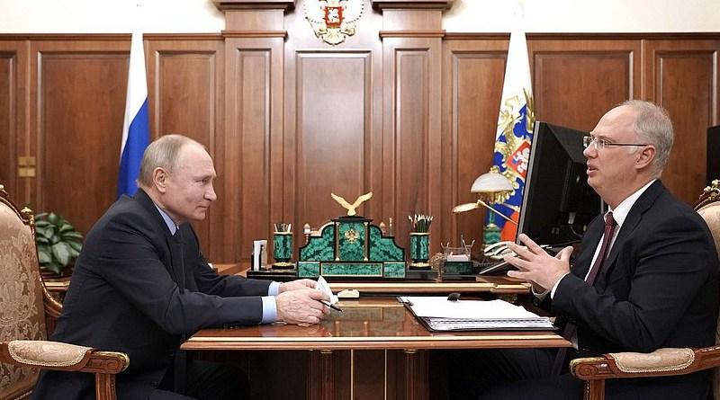 Russian President Vladimir Putin and CEO Kirill Dmitriev. Photo Credit: Kremlin.ru