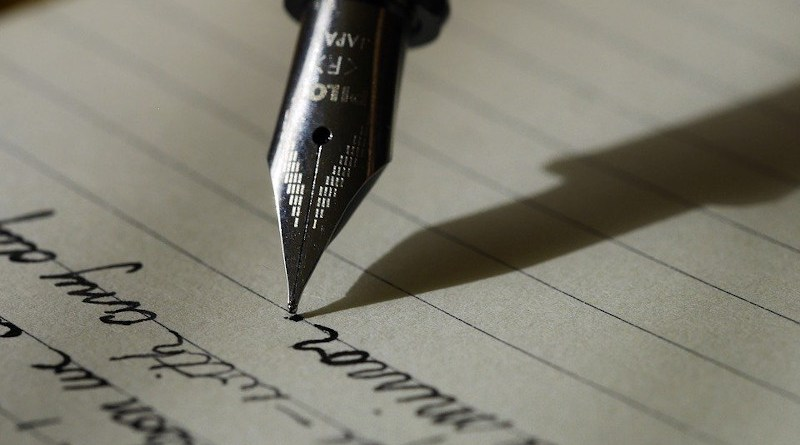 Letter Writing Write Fountain Pen Ink Scribe Handwriting