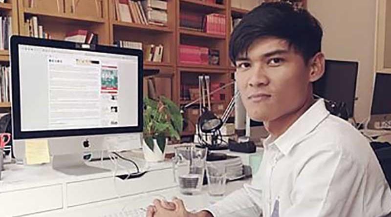 Freelance reporter Ko Mratt Kyaw Thu, who has been charged under Section 505(a) of the Penal Code. Photo: Mratt Kyaw Thu