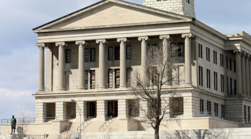 Tennessee State Capitol in Nashville, Tennessee. Photo Credit: Kaldari, Wikipedia Commons