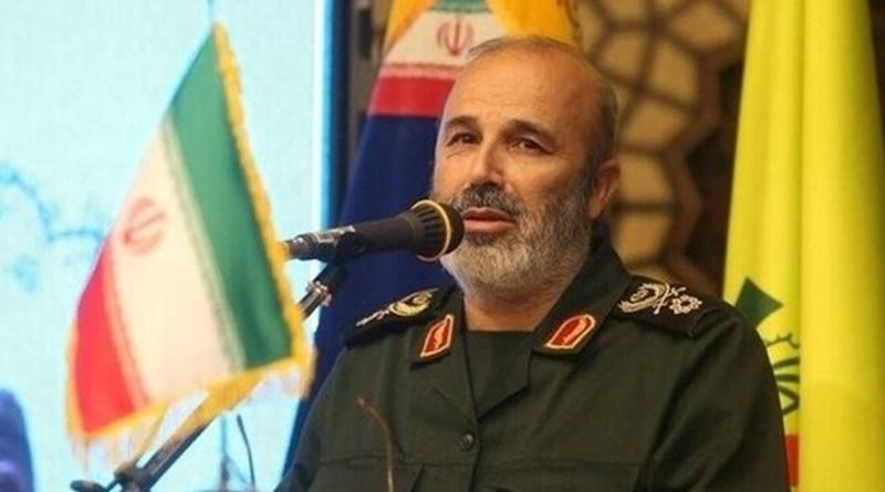 Iran's Deputy Commander of the Islamic Revolution Guards Corps (IRGC) Qods Force Brigadier General Mohammad Reza Fallahzadeh. Photo Credit: Fars News Agency