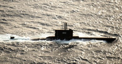 File photo of Indonesian submarine KRI Nanggala (402). Photo Credit: Navy Petty Officer 3rd Class Alonzo M. Archer