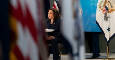 File photo of US Vice President Kamala Harris. (Official White House Photo by Lawrence Jackson)
