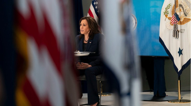 File photo of US Vice President Kamala Harris. (Official White House Photo by Lawrence Jackson)