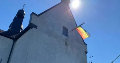 Churches in Germany are flying LGBT pride flags in response to the Vatican's 'no' to same-sex blessings./ Rudolf Gehrig/CNA Deutsch.