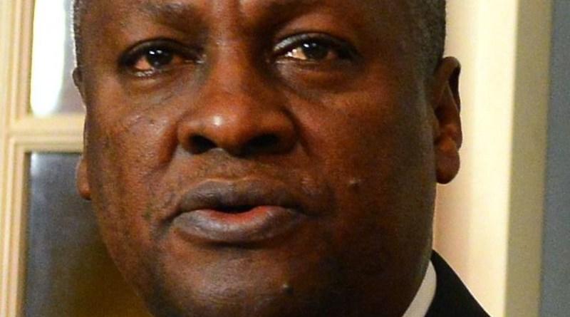 File photo of Ghana's John Mahama. Photo Credit: U.S. Department of State, Wikipedia Commons