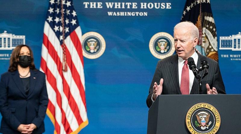 US Vice President Kamala Harris and President Joe Biden at the White House. Photo Credit: Adam Schultz / The White House