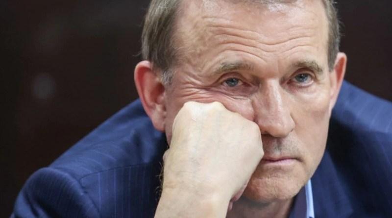 Ukraine's Viktor Medvedchuk in court in Kyiv. Photo Credit: Serhil Nuzhnenko/ Radiosvoboda.org (RFE/RL)