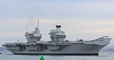 File photo of aircraft carrier HMS Queen Elizabeth. Photo Credit: Brian Burnell, Wikipedia Commons