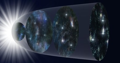 Schematical representation of the expansion of the Universe over the course of its history. CREDIT NAOJ