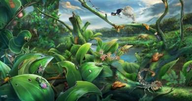 Ecological reconstruction of the Zhangpu biota CREDIT NIGPAS