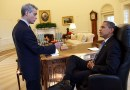 US President Barack Obama and Rahm Emanuel in the Oval Office. Photo Credit: White House, Wikipedia Commons