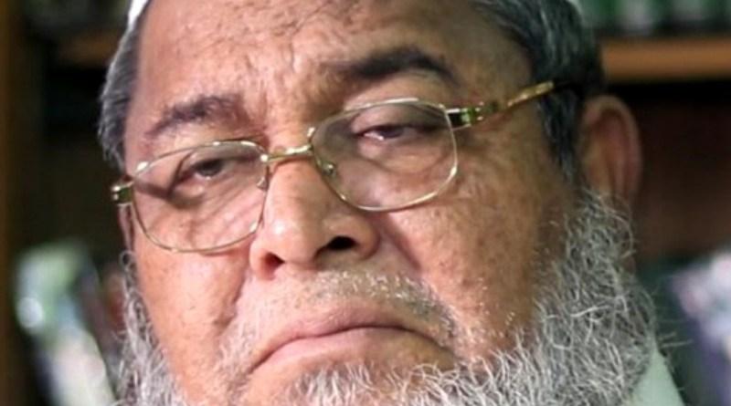 Junaid Babunagari, Amir of Hefazat-e-Islam Bangladesh. Photo Credit: Owais Al Qarni, Wikipedia Commons