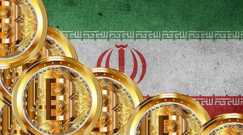 Iran flag bitcoin