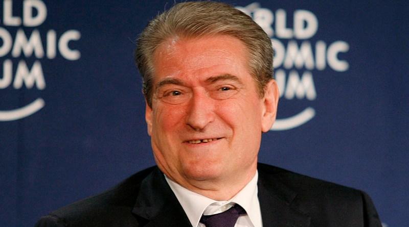 File photo of Albania's Sali Berisha. Photo Credit: World Economic Forum, Wikipedia Commons