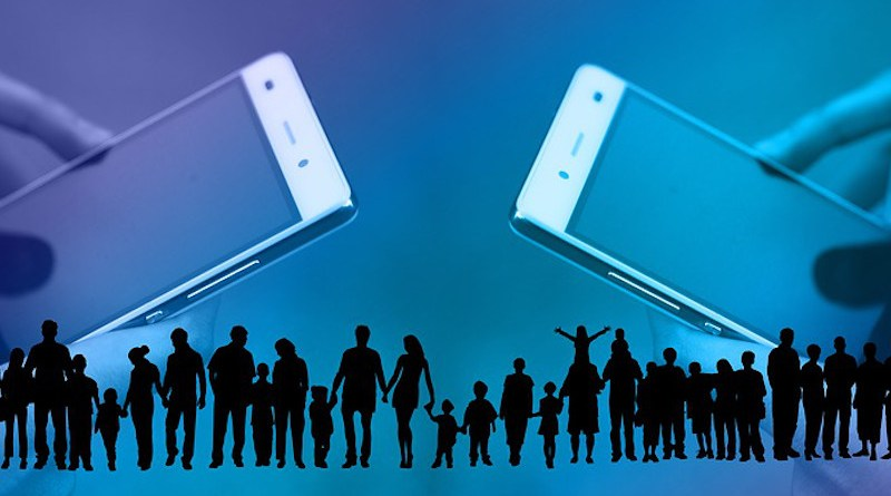 Social Media Smartphone Crowd Human Communication