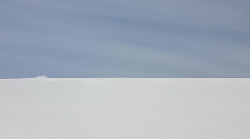 Microplastics have been found in Vatnajokull, Europe's largest ice cap. CREDIT Eirikur Sigurdsson