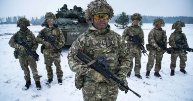 Troops in NATO exercise in Europe. Photo Credit: NATO