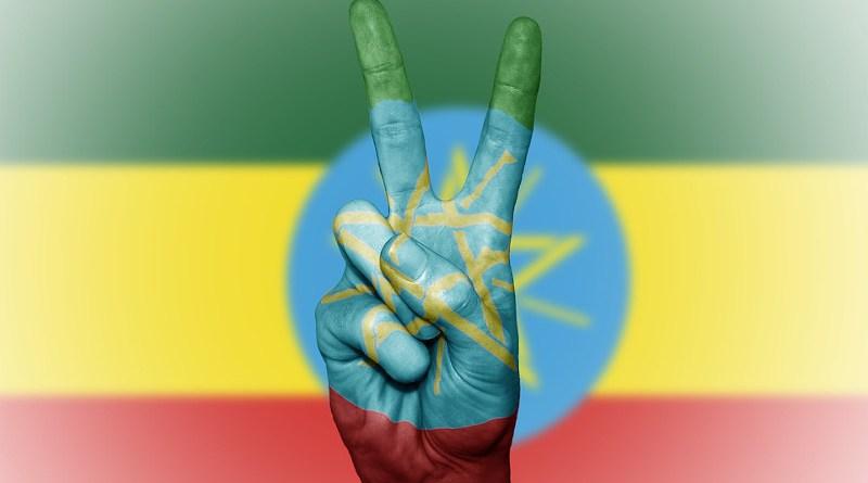 ethiopia flag peace