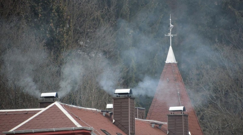 Soot particles from oil and wood heating systems and road traffic can pollute the air in Europe on a much larger scale than previously assumed. This is what researchers from the Leibniz Institute for Tropospheric Research (TROPOS) conclude from a measurement campaign in the Thuringian Forest. CREDIT Tilo Arnhold, TROPOS