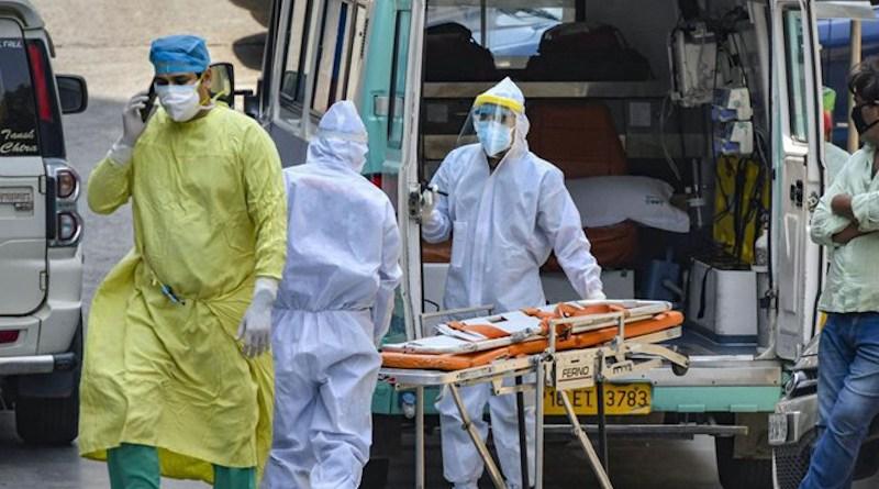 Health workers in India fight coronavirus. Photo Credit: Fars News Agency