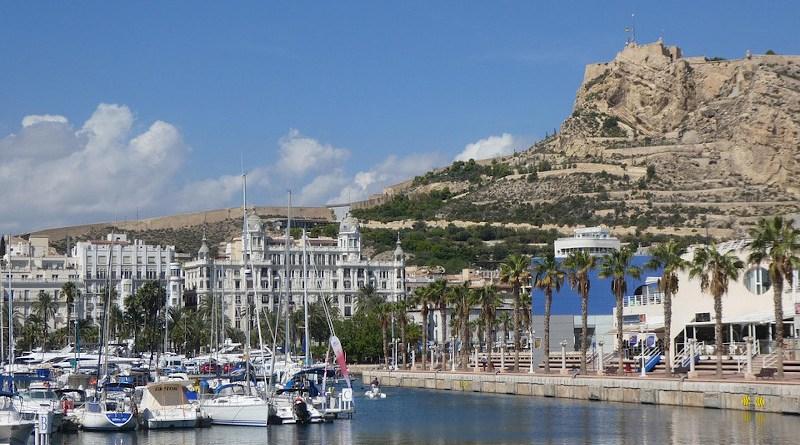 Alicante Spain City Landscape Travel Mediterranean