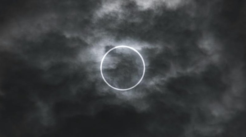 Photo of the annular solar eclipse of 20 May 2012 as seen from Tokyo. Credit: Marek Okon / Unsplash