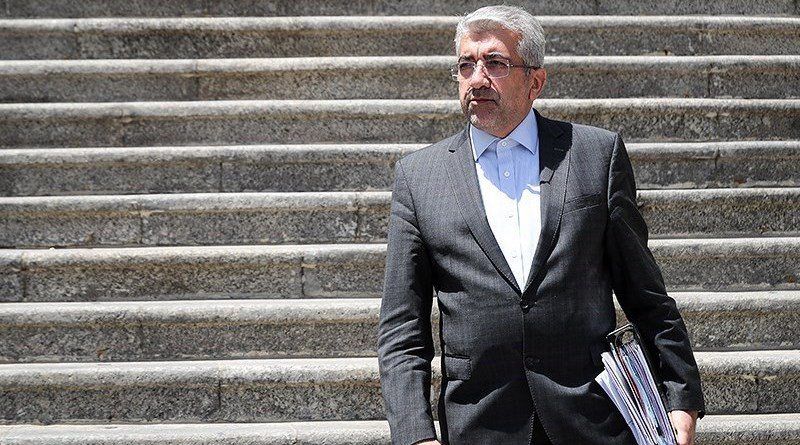 File photo of Iran's Energy Minister Reza Ardekanian. Photo Credit: Tasnim News Agency