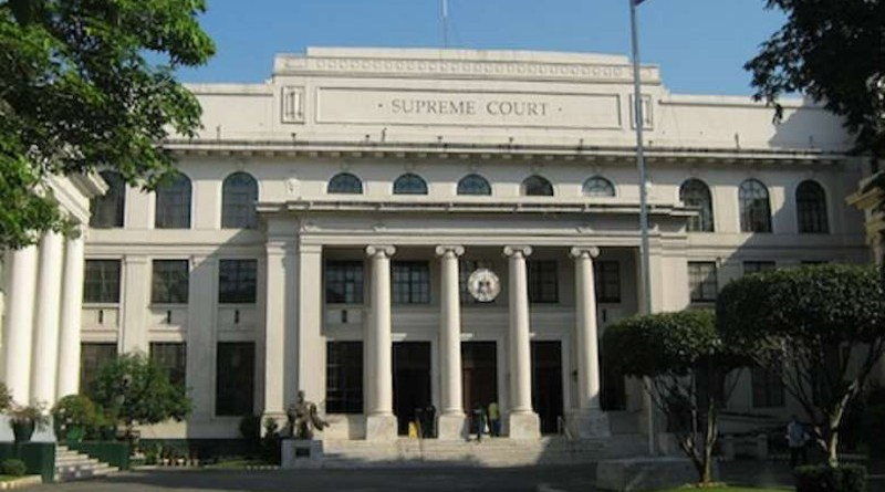 The Supreme Court of the Philippines. (Photo supplied)