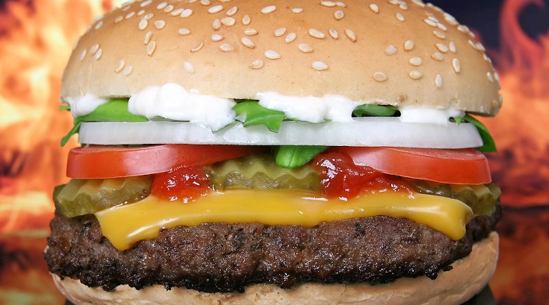 Hamburger Burger Barbeque Bbq Beef Bun