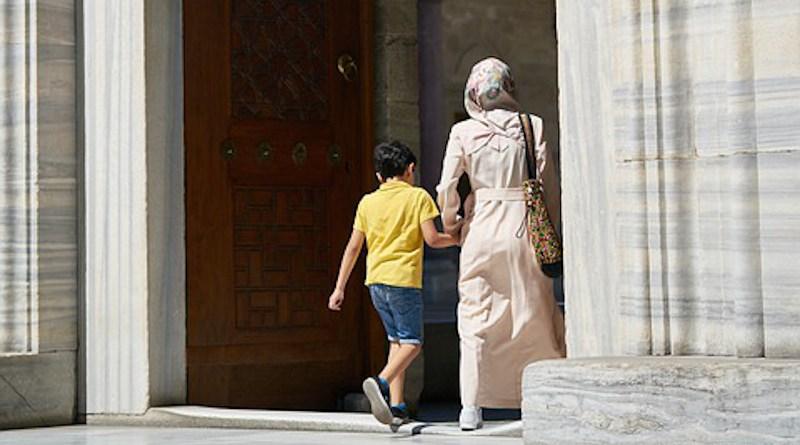 child boy family mother woman islam muslim