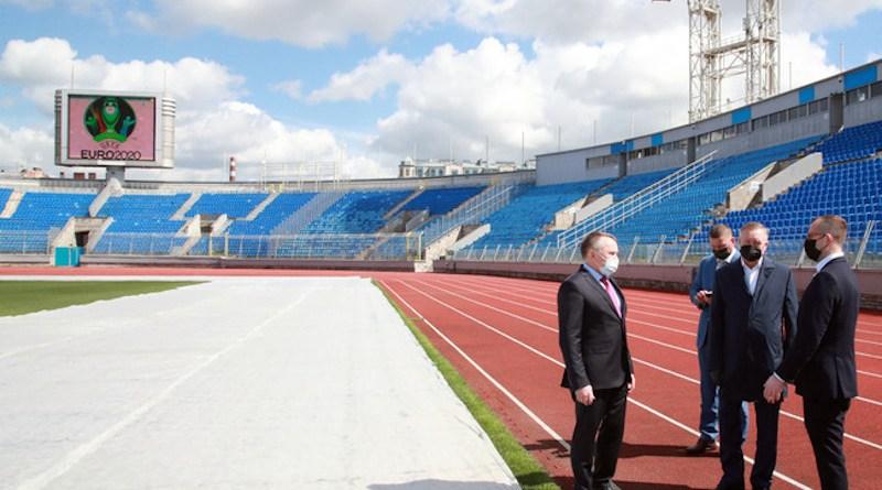 Gazprom Stadium. Photo: Gov.spb.ru