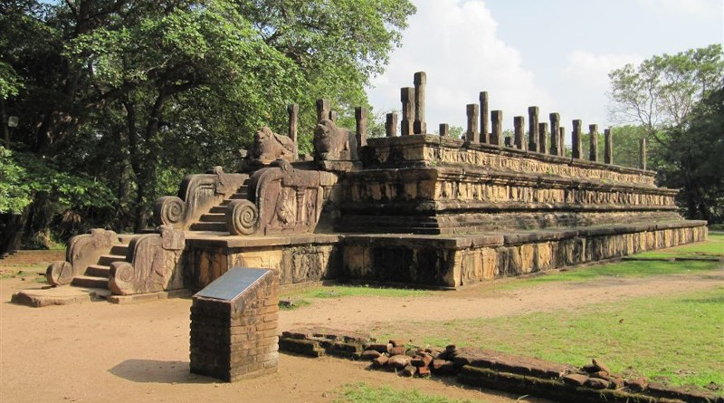 Ruins of ancient Polannaruwa, Sri Lanka. (Photo supplied)