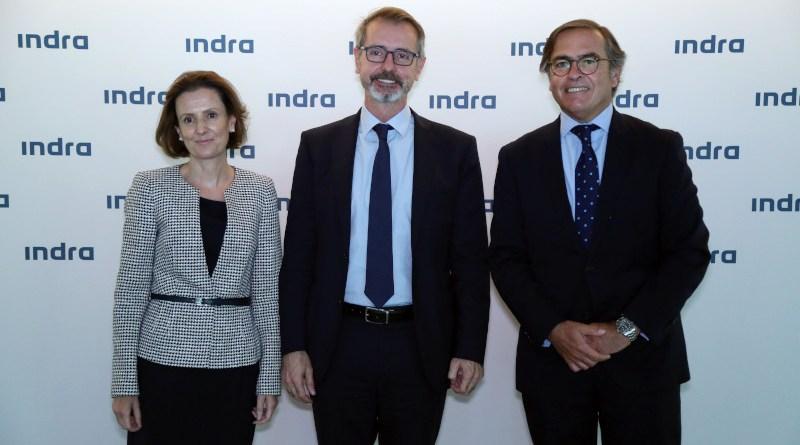 Cristina Ruiz, Marc Murtra and Ignacio Mataix. Photo Credit: Indra