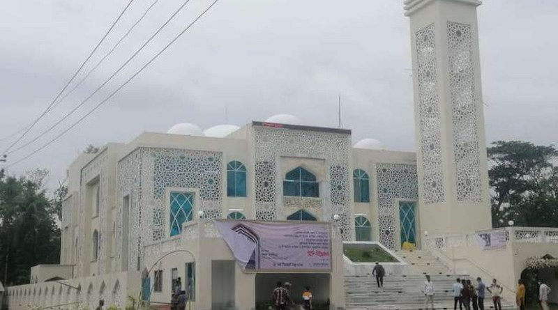 A model mosque inaugurated by Prime Minister Sheikh Hasina on June 10. (Photo supplied)