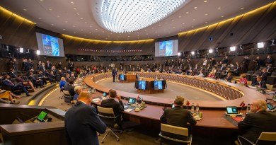 Meeting of NATO leaders in Brussels. Photo Credit: NATO