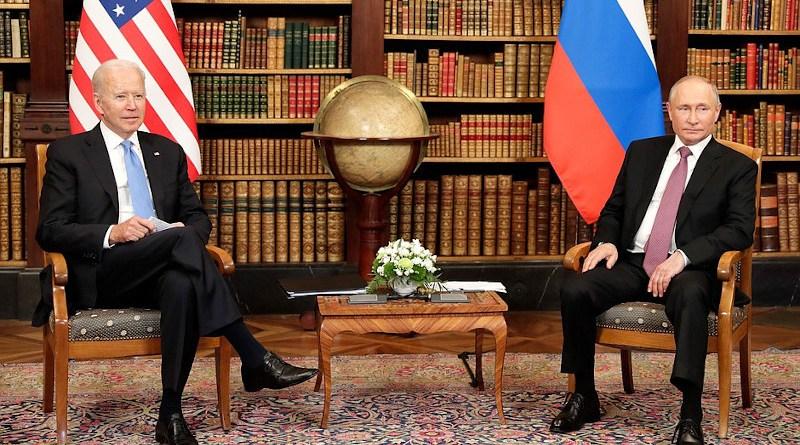 Russia's President Vladimir Putin with President of the United States of America Joseph Biden. Photo: TASS, Kremlin.ru