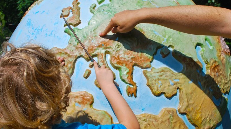 Germany Globe Learning Geography Teaching Child World