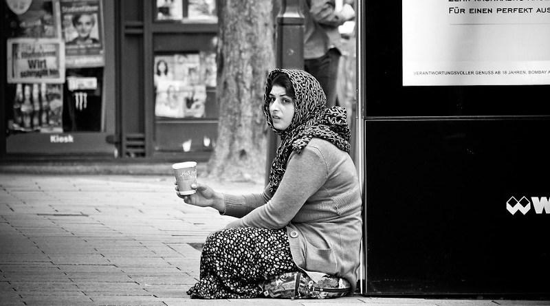 Human Road Woman Eastern Europe Roma Person
