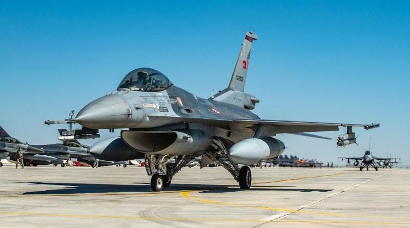 A Turkish F-16 participates in exercise Anatolian Eagle. Photo Credit: Giovanni Colla, NATO