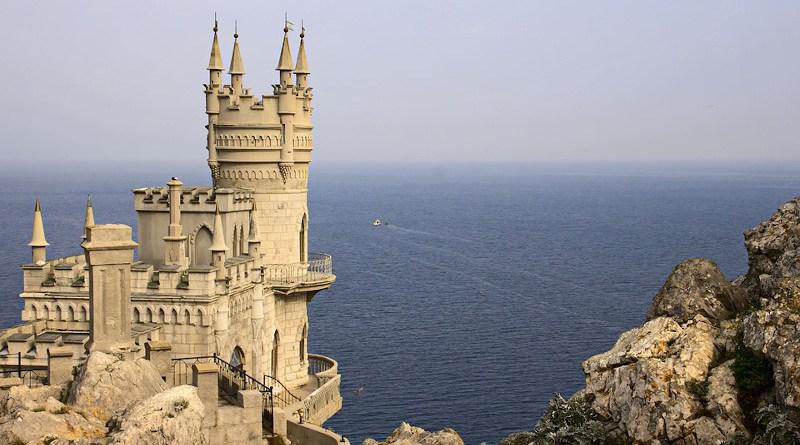 Crimea Swallow's Nest Sea Black Sea Palace Yalta