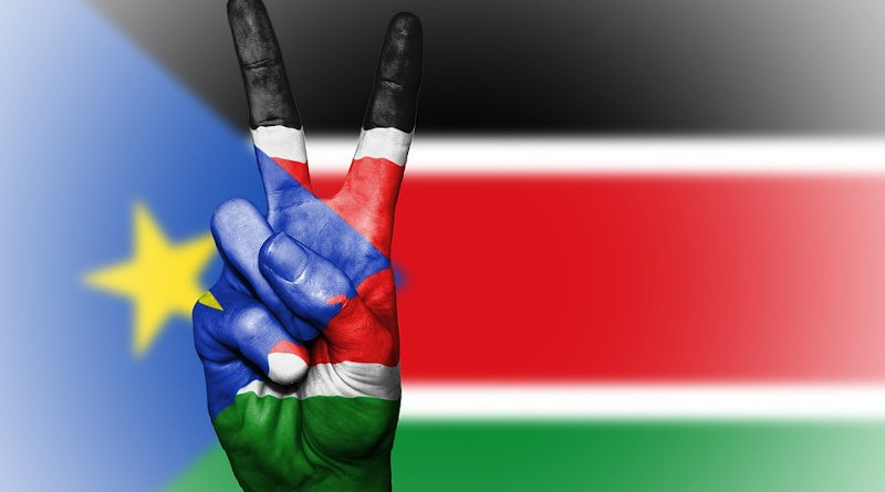 south sudan flag peace