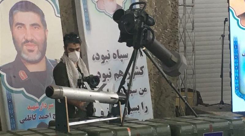 Iran's Almas anti-tank missile. Photo Credit: Tasnim News Agency