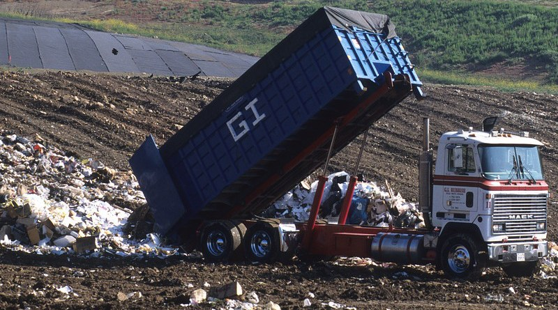 Dump Truck Landfill Disposal Garbage Truck