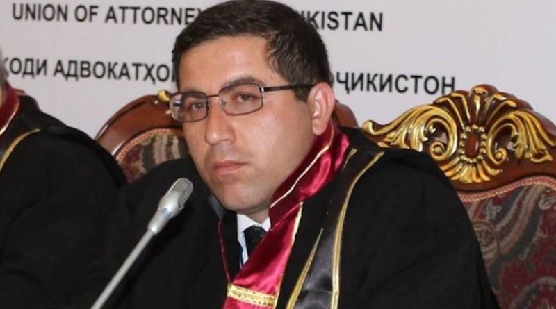 Buzurgmehr Yorov, a Tajikistani human rights lawyer (Photo supplied)
