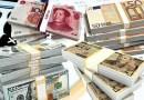 currency currencies money bills banknotes dollar yuan euro