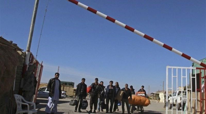 Islam Qala border crossing between Afghanistan and Iran. Photo Credit: Tasnim News Agency